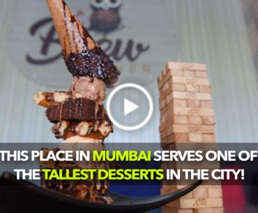 The Brew Corner In Vasai Probably Serves The Tallest Dessert In Town