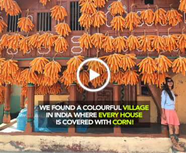 Wander In The Quaint Villages Of Uttrakhand, Sainji & Bhatoli Where Every house Is Decorated With Ripe Corn