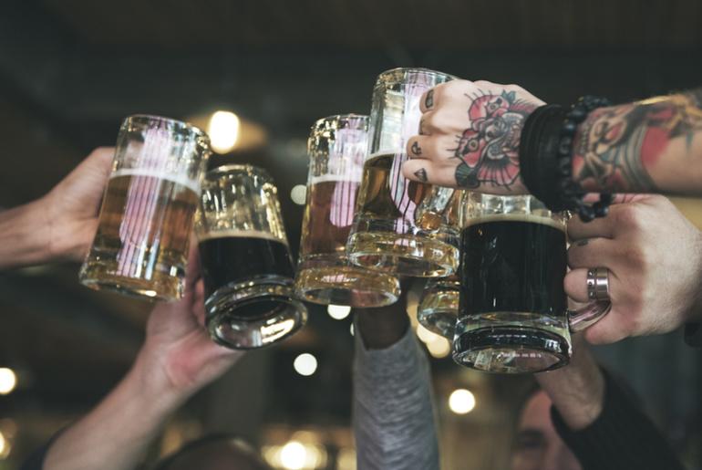Rooftop beer festival - Pune