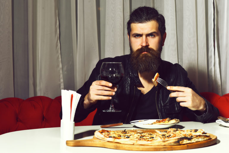 Men With Moustache Get A Pizza Free At Playlist Pizzeria In Bandra
