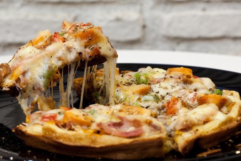 Pizza Waffle - Papacream