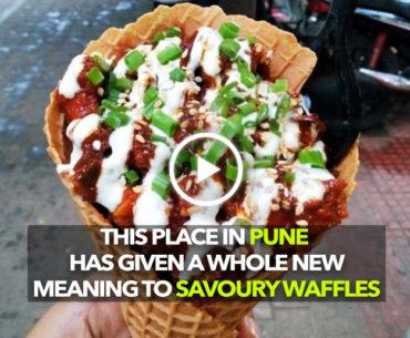 Street Meat In Koregaon Park Serves Prawns In A Waffle And Thai Chicken Gol Gappas