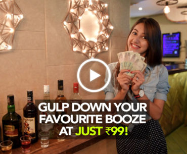 Gulp Down Your Favorite Booze At Only ₹99 At Door No 1
