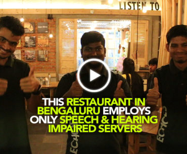 Echoes In Koramangala Employs Only Speech & Hearing Impaired Servers