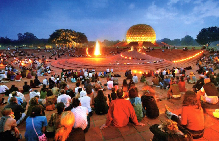 Auroville - India's First Experimental Township | Curly Tales