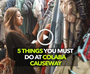 Head To Colaba Causeway For The Perfect Shopper's Paradise