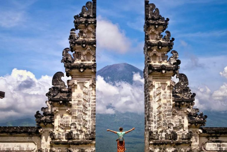Ulu Watu Temple in Bali. Source: stylerug.net