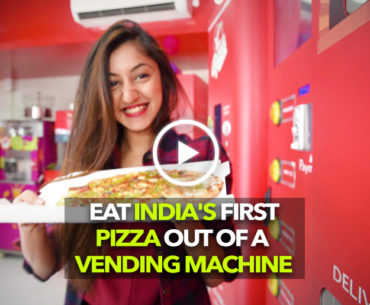 Yess Pizza In Kandivali Serves You Pizza Right Out Of A Vending Machine