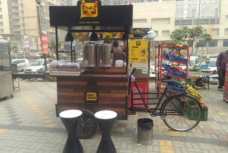 Visit This Mobile Chai Point To Get Your Steaming Hot Cup Of Chai