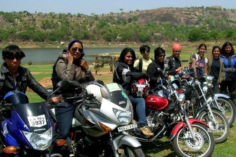 Get To Know The First Women Motorcycle Club In India – The Bikerni
