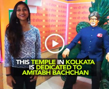 """Jai Amitabh Bachchan"" Is The Chant At This Temple In Kolkata"