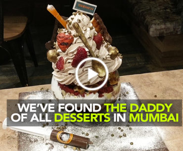 Trench In Mumbai Serves The Midas Touch Dessert Which Is Nearly 1 Kg Of Goodness