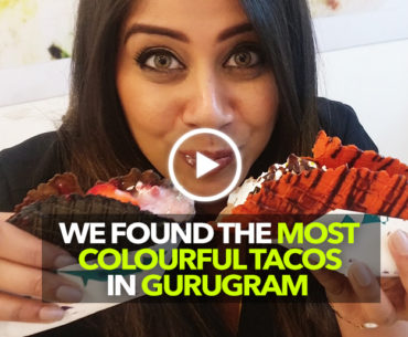 Grab Your Favourite Out Of These Rainbow Tacos Served In Gurugram's Eyes On Ice