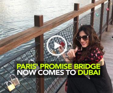 Hang Your Love Lock At The Promise Bridge In Dubai