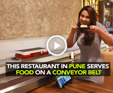 Get Your Food Served On Conveyor Belts At Autobahn In Pune | Curly Tales