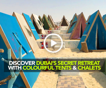 Camp With Your Own Colourful Tent In Dubai