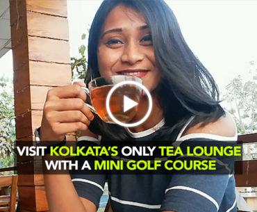 Yule Tea Lounge In Kolkata Is A Tea Garden With A Mini-Golf Course