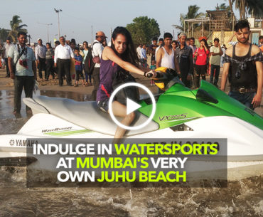 Juhu Beach In Mumbai Is Now A Water Sports Hub In The City!