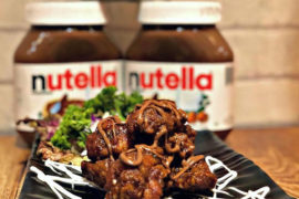 Nutella Spicy Chicken Wings