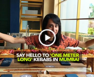 Enjoy Meter Long Grand Trunk Kebabs At Taftoon Bar & Kitchen In BKC