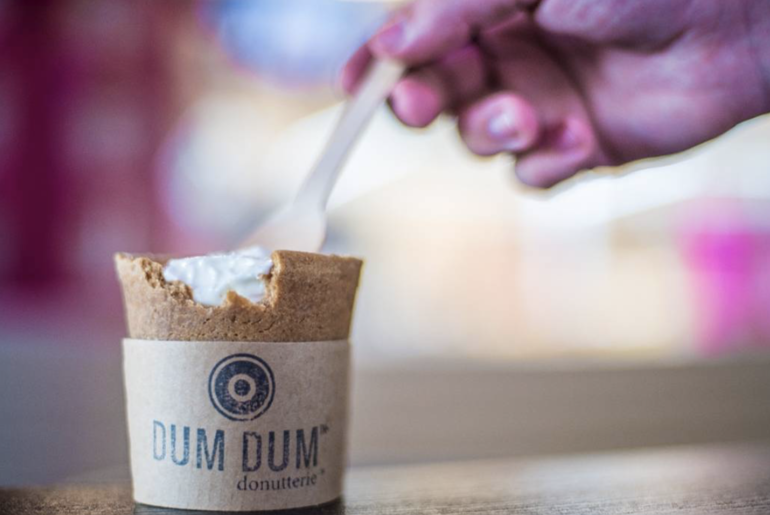 This Place In Dubai Serves Ice Cream And Coffee In Edible Cups
