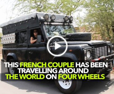 Here's How A French Couple Is Travelling Across The Globe In A Land Rover