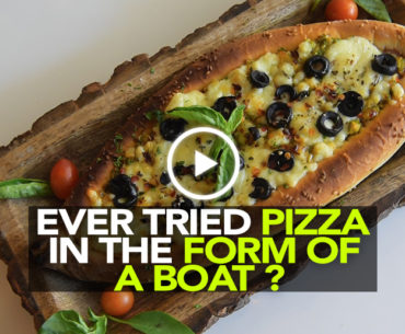 Eat Pizza In A Boat At Vile Parle's Cafe Ville Villa