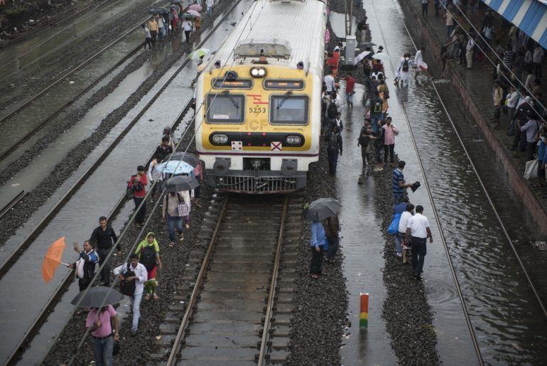 Indian Railways Build A 'Waterproof' Engine For Mumbai Local Trains