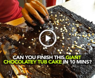 Can You Finish This Giant Chocolate Tub Cake Within 20 Minutes In Mumbai?