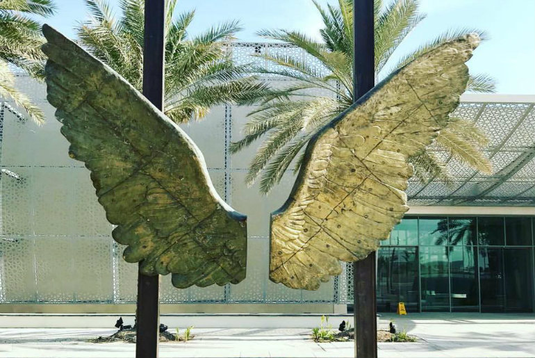 Iconic Wings Of Mexico On Display In Abu Dhabi Until October 31