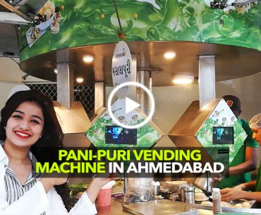 Eat Pani-Puri Through A Vending Machine At WaterShots In Ahmedabad