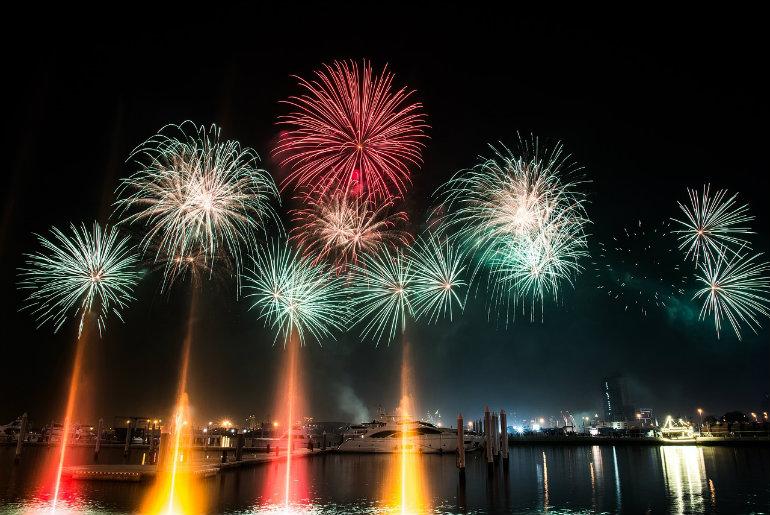 Ras Al Khaimah Fireworks