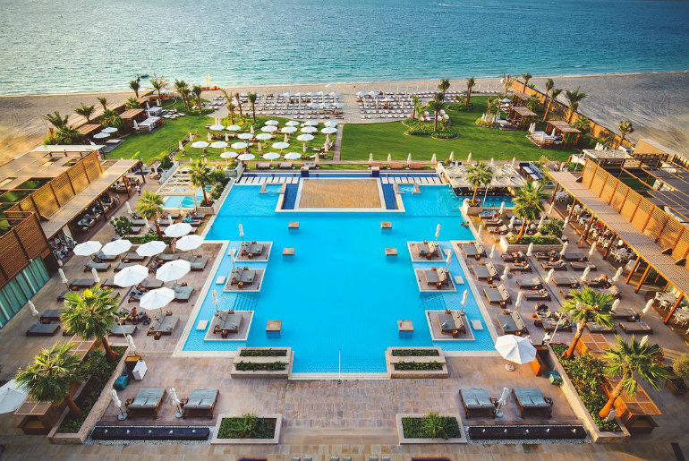 Ibiza Style Pool Party Comes To Dubai