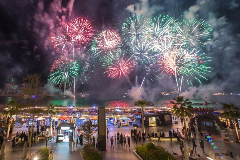 Watch Eid Fireworks At These Popular Waterfront Destinations In Dubai