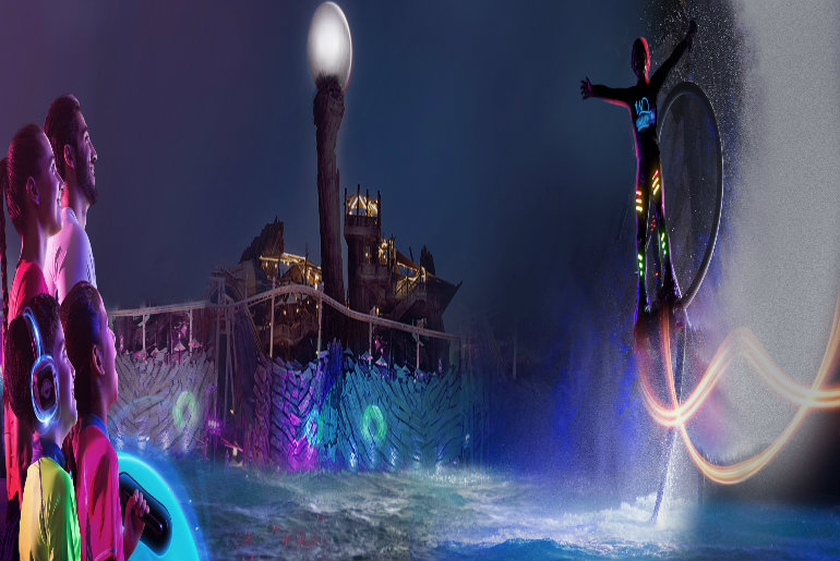 Yas Waterworld Is Back With Neon Nights