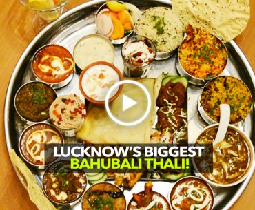 Urban Dhaba In Lucknow Serves This Massive Baahubali Thali