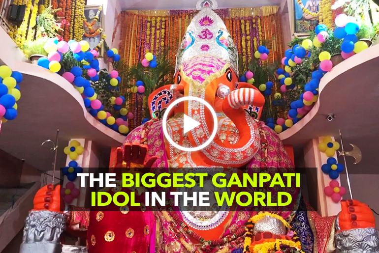 Indore Has The Biggest Ganpati Idol In The World