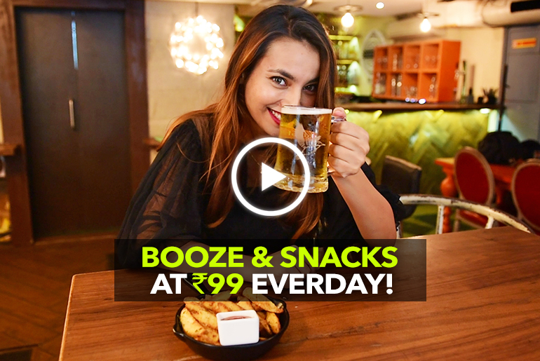 Door No 1 In Mumbai Is Serving Booze & Chakna Just For Rs 99!