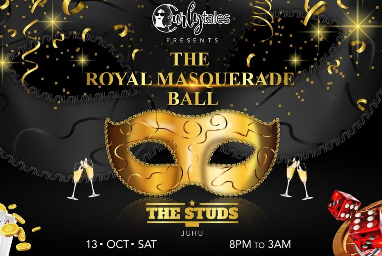Dazzle In Your Tuxs & Gowns As Curly Tales Is Hosting The Royal Masquerade Ball On 13th October