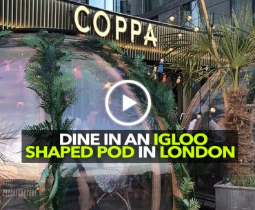 Travel Tales With Kamiya Jani Ep 7 | Coppa Club London – Dining In an Igloo