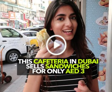 This Cafe In Meena Bazaar Serves Sandwiches For AED 3