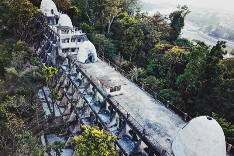 This Iconic Ashram Was Visited By The Beatles In Rishikesh