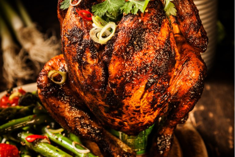 Linkin Barrel Serves A Drooling Beer-Can Chicken In Pune