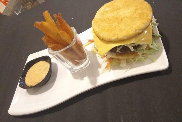 Try The Uttapam Burger At Firangi Madras In Kolkata
