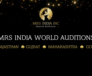 Here's A Peek Through The Curtains Into The Mrs. India World West Zone Auditions