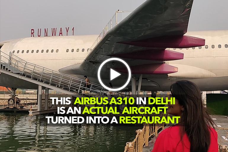Aeroplane Turns Restaurant In Delhi! | Curly Tales