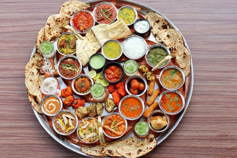 Do You Have What It Takes To Finish This Giant Thali At Quarter Canteen In Mumbai?