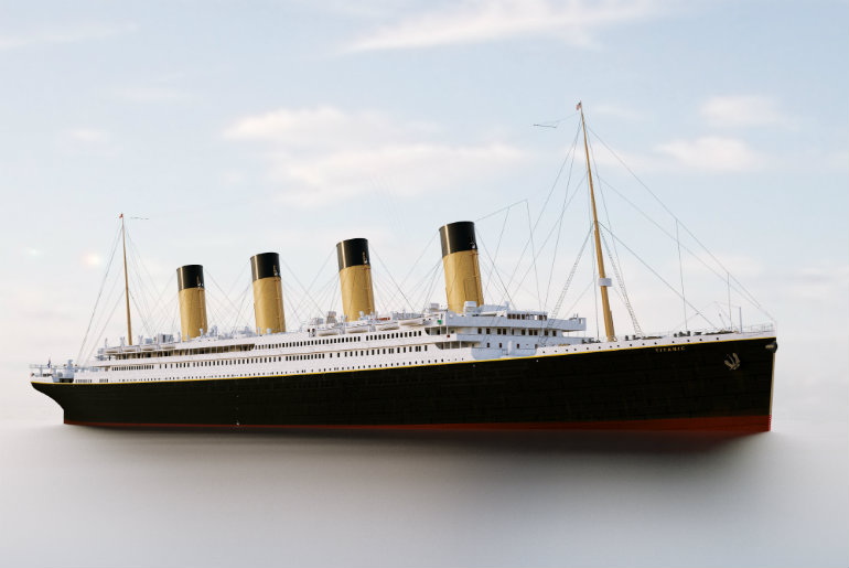 A Replica Of Titanic To Sail From Dubai