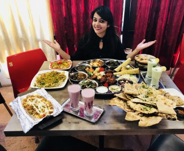 BeingFoodie Express Kitchen Serves The Biggest Thali In Nagpur!