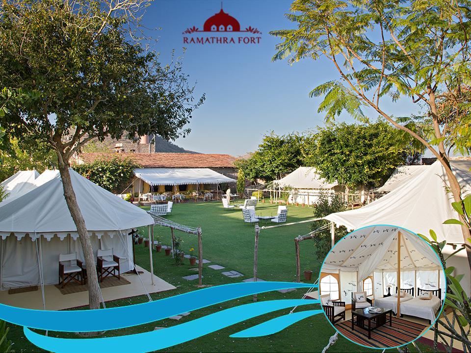 Luxury AC Tent